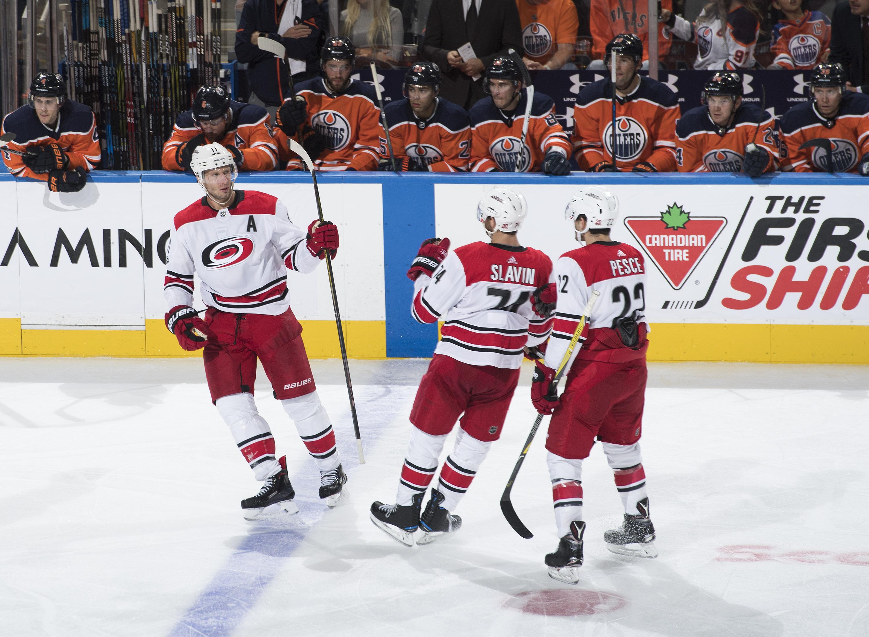 Darling leads Carolina Hurricanes to 2-1 win over Calgary Flames